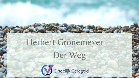 Herbert Gronemeijer_Eindelijk Geregeld